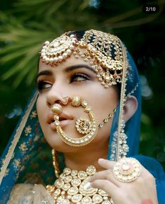 Nothing can define royalty better than Rajasthani Rajput jewellery. Choose from the suave Rajasthani jewellery and complete your bridal look perfectly. Bridal Looks, Bridal Style, Rajput Jewellery, Indiana, Bridal Nose Ring, Nath Bridal, Indian Bridal, Bridal Makeup, Indian Jewelry