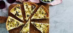Vegetable Pizza, Feta, Vegetables, Eggplant, Aluminium Foil, Veggie Food, Vegetable Recipes, Vegetarian Pizza, Veggies
