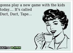 Haha there's a new game we can play with the kids..totally kidding! @Nina Sicilia @Sydney Spellman