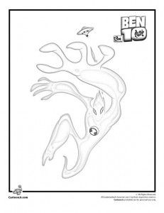 ben 10 coloring pages goop - photo#3