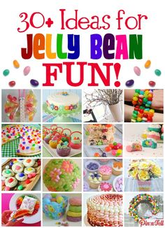 I'm on the hunt to find creative ways to use Jelly Beans from the Best of Bloggers. Check out 30+ Ideas for Jelly Bean FUN!