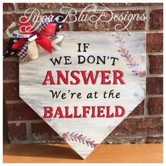 Baseball Door Hanger, Home plate Door Hanger, Baseball Sign, Baseball Wreath, Baseball Decor by PippaBluDesigns on Etsy Baseball Wreaths, Baseball Signs, Baseball Crafts, Baseball Boys, Baseball Stuff, Baseball Tickets, Sports Wreaths, Baseball Letters, Baseball Boyfriend