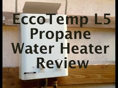 The Ultimate Off-Grid Shower: EccoTemp L5 Hot Water Heater Review - YouTube