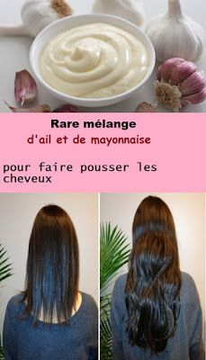 Rare mixture of garlic and mayonnaise to grow hair - Hair Treatment Brazilian Hair Treatment, Hair Treatment At Home, Hair Mayonnaise, Hairdo For Long Hair, Curly Hair Styles, Natural Hair Styles, Creamy Blonde, Face Shape Hairstyles, Beauty Makeup