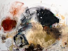 #081307 Timing Is Everything Original Abstract Painting on Canvas