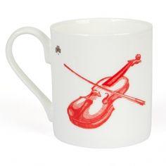 Irish Fiddle Fine Bone China Mug Mug Printing, Irish Wolfhound, China Mugs, Beautiful Hands, Bone China, How To Draw Hands, Stamp, Prints, Design