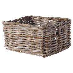 """BYHOLMA Basket - brown, 9 ¾x11 ½x6 """" - IKEA"""