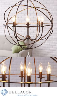 Save 47% on this best-selling chandelier from the Solaris Collection by Crystorama. It adds a contemporary touch to your foyer or open staircase with its clean lines and sleek finish. Remember this gorgeous chandelier comes with the Bellacor price match guarantee and free shipping. http://www.bellacor.com/productdetail/crystorama-lighting-group-9226-eb-solaris-english-bronze-six-light-chandelier-605971.htm?partid=social_pinterestad_holiday_605971