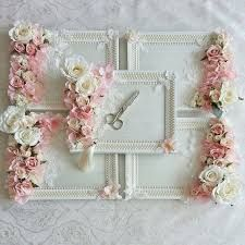 Shabby Chic tray with flowers Wedding Gift Baskets, Wedding Gift Wrapping, Wedding Gift Boxes, Wedding Favours, Diy Wedding, Wedding Gifts, Engagement Gift Baskets, Wedding Dress, Engagement Decorations