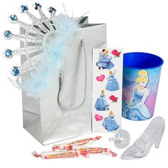 This Sparkling Princess Favor Pack contains five spectacular fairytale themed favors and candy treats that every princess is sure to love!