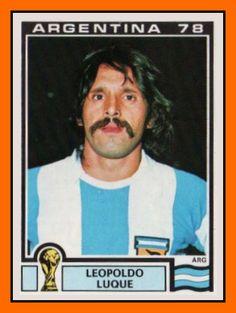 Leopoldo+Luque+Figuritas+Panini+Argentina+WC+1978