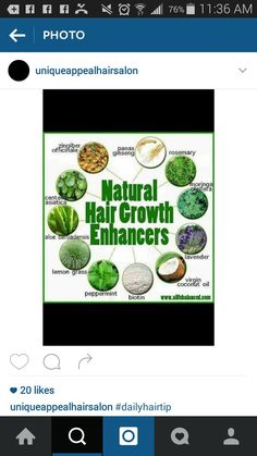 Healthy hair starts in the inside.....