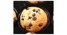 Locker leichte Muffins mit Schokotröpfchen
