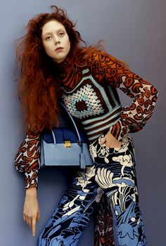 thefashionbubble:  Natalie Westling for Miu Miu Resort 2015 Advertising Campaign, ph. by Jamie Hawkesworth.