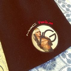RARE MAC VG RIRI BEANIE Rare MAC VIBA GLAM RIRI BEANIE. Only given out to employees who worked for Mac during Riannas Viva Glam Run. Never sold in stores. Super special piece. Worn one time for event.   ❌NO TRADES❌  ⭐️Send me your best OFFER with the offer button if you don't ❤️ my price⭐️ MAC Cosmetics Accessories Hats
