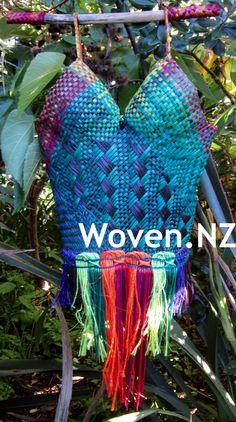 Please visit my Facebook page Woven.NZ and discover the making of my first woven harakeke (flax) dress.