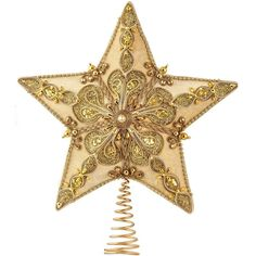 Cream Velour Star Christmas Tree Topper ($78) ❤ liked on Polyvore featuring home, home decor, holiday decorations, christmas, holidays, xmas tree toppers, star tree topper, christmas holiday decorations and holiday home decor