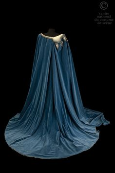 Costume designed by Franco Zeffirelli for Maria Callas in the Paris Opera's 1964 production of Vincenzo Bellini's Norma From the Centre National du Costume de Scène