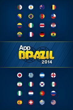 App Brazil 2014 - Splash Page