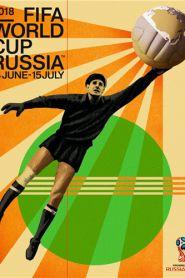 Fifa world cup 2018 russia official event poster (artist igor gurovich, goalkeeper lev yashin) – sports poster warehouse World Cup Russia 2018, World Cup 2018, Fifa World Cup, World Cup Draw, Soccer Gear, Bra Video, Children Images, Sport Motivation, Goalkeeper