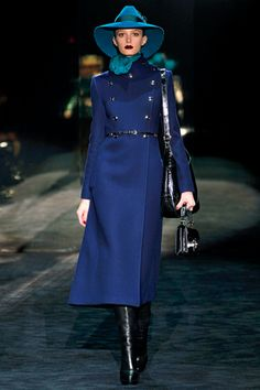 Wish it got cold enough in Sydney for one of these. Gucci Fall 2011 Ready-to-Wear