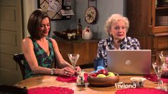 The BEST #BettyWhite #Blooper from Hot in Cleveland Betty White's Bender Over Blooper #NowWatching the marathon on #TVLand