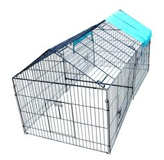 Chicken Pens Crate Rabbit Enclosure Pet Playpen Exercise Pen Features: 86″ L x 40″ W 28″ H in the edge, 40″ in the middle Free Polyester Cover High quality low carbon steel wire and powder coating http://house4pets.com/product/chicken-pens-crate-rabbit-enclosure-pet-playpen-exercise-pen/