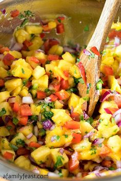 Grilled Marinated Chicken with Tropical Salsa - Perfect for summer barbecues! #ad #TargetCrowd