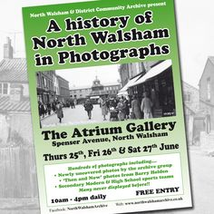 Next Week!!!! #NorthWalsham #Norfolk #Photographs #Photos #Archive #History #Atrium
