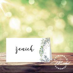 Svatební oznámení - TYP 191 / Zboží prodejce Noviny Michal | Fler.cz Place Cards, Place Card Holders