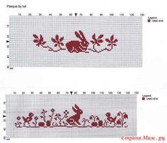 Пасхальная подборка схем для вышивки. / Вышивка / Схемы вышивки крестом, вышивка крестиком