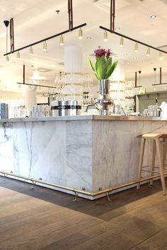 Michel Helsinki ABL-Laatat Decor, Furniture, Cafe, Interior, Cafe Restaurant, Table, Home Decor, Table Decorations, Public Space