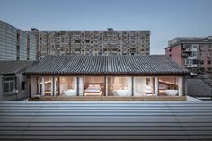 Layering Courtyard in Beijing by ARCHSTUDIO | Yellowtrace