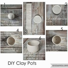 me ~ Easter Ideas - DIY Clay Ornaments Clay Art Projects, Clay Pot Crafts, Polymer Clay Crafts, Diy Clay, Ceramic Clay, Ceramic Pottery, Cosas American Girl, Diy Air Dry Clay, Clay Ornaments