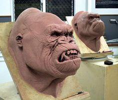 Kong Head by Mile Steves.