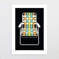 Take A Seat - Art Print by Glenn Jones Art - art to make you smile. Available in a range of sizes. Click image to buy online. www.glennjonesart.com