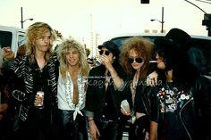 Axl Rose, Guns N' Roses, original line-up