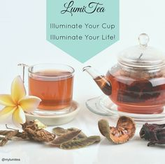 When you #illuminate your cup, you illuminate your life! Find out what it means to be enlightened, visit our NEW site at www.LumiTea.com today!