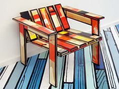 Dirty Chair #13 by Richard Woods