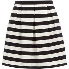 Petite black stripe prom skirt ($15) ❤ liked on Polyvore featuring skirts, bottoms, faldas, stripes, black, petite, striped skirt, stripe skirts, prom skirt and cotton skirts