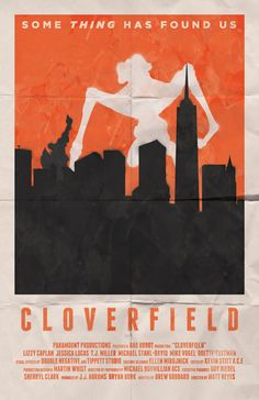 Minimalist Movie Poster: Cloverfield by William Henry
