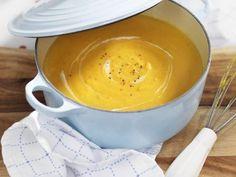 Rezept: Ingwer-Süßkartoffelsuppe                                                                                                                                                                                 Mehr