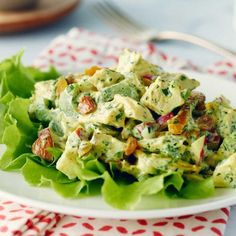 Recipes - Famous Curried Chicken Salad - Chicken.ca #chickendotca