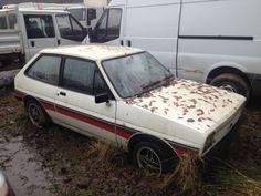 Ford Fiesta Supersport barn find