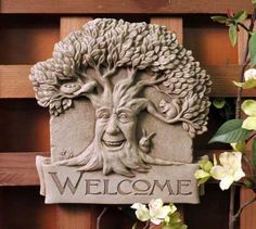1236 Woodland Welcome #carruth #sale #special #welcome #tree #garden #plaque…