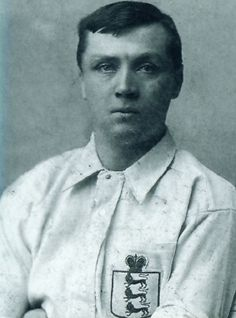 Steve Bloomer - Derby County, Middlesbrough, England.