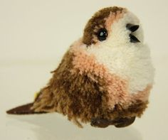 Steiff Woolen Bird Vintage Germany Pom Pom Toy by DasBulliHaus