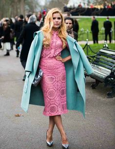 / Paloma Faith by Abdel Abdulai Paloma Faith, Vintage Looks, Pretty In Pink, Pink And Green, Classic Style, How To Look Better, Kimono Top, Sissi, Style Inspiration