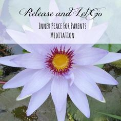 What to help your child to relax more? Become relaxed yourself!   New meditation for parents:  release tension, surrender the day... and RELAX.