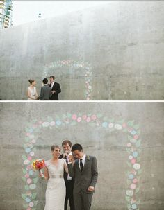 Love the blank industrial backdrop for engagement shoot @Bek Smith J O U R N A L ★